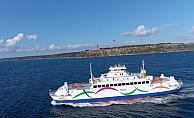 GESTAŞ gemileri yeni renkleriyle Çanakkale'de