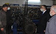 Başkan Öz'de sanayi esnafına müjde