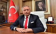 Gökçeada yeni araçları için Bülent Turan'a teşekkür ediyor