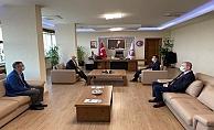 Vali Aktaş'tan Rektör Prof. Dr. Sedat Murat'a ziyaret