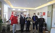AFAD heyeti Vali Aktaş'ı ziyaret etti