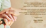 Başkan Ülgür Gökhan'ın Yaşlılar Haftası için mesajı