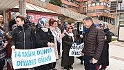 Başkan Kuzu'dan diyabet farkındalığına destek