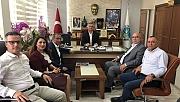 ÇTB'den Oruçoğlu'na ziyaret