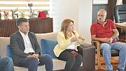 CHP Yönetiminden Başkan Gökhan'a ziyaret (Video)