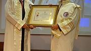 Kahraman'a Fahri Doktora Unvanı verildi