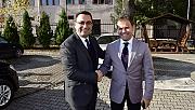 Başkan Erdoğan'dan, İlçe Emniyet Müdürü'ne ziyaret