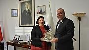 ABD İstanbul Başkonsolosu'ndan ÇTSO'ya ziyaret