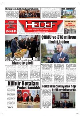 Çanakkale Hedef Gazetesi - 18.12.2018 Manşeti