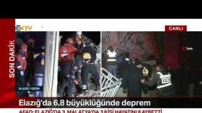 AFAD, depremde 6 kişinin hayatını kaybettiğini açıkladı