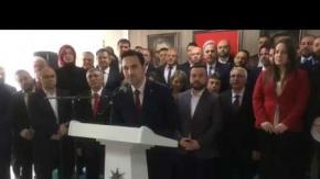AK Parti'de Çanakkale Yönetimi Açıklandı