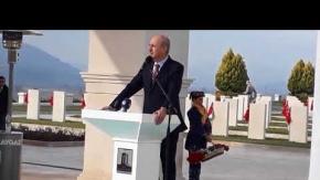 Akbaş Şehitliği Törenle Açıldı