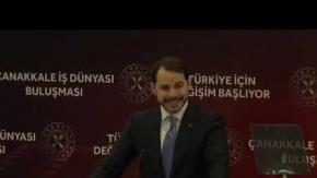 Bakan Albayrak, Müjdeyi Çanakkale'den verdi