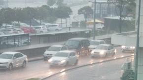 Çanakkalede sağanak yağış