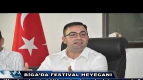 Biga'da Festival Heyecanı