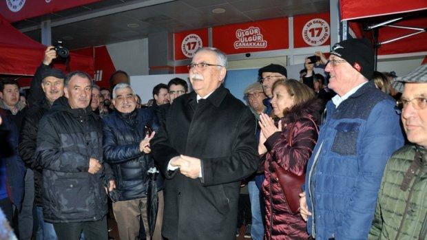 Başkan Gökhan seçim startını verdi