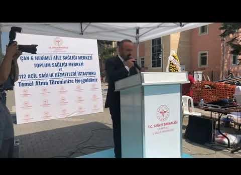 Çan'a 5,5 milyon TL'lik sağlık yatırımı