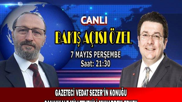 Bakış Acısı programının konuğu CHP Milletvekili Erkek
