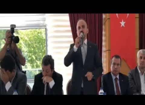 """Turan; """"Ordu göreve diyenler PKK'ya sessiz kalıyor"""""""