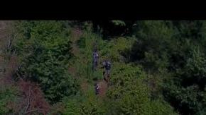 Drone ile uyuşturucu baskını