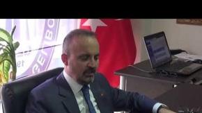 Turan, Gelibolu Esnaf odasını ziyaret etti