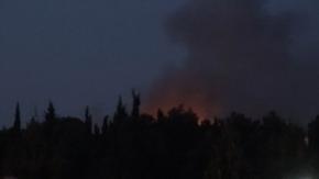 Çanakkale Yarı Açık ceza evinde yangın çıktı